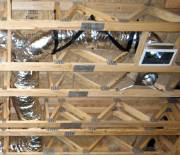 residential new construction ductwork